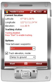 MobileTracker for Windows Mobile<sup>&reg;</sup>