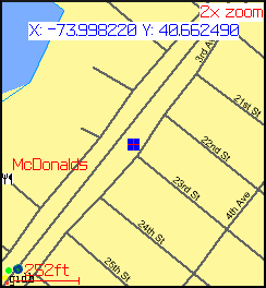 Streetlevel Map
